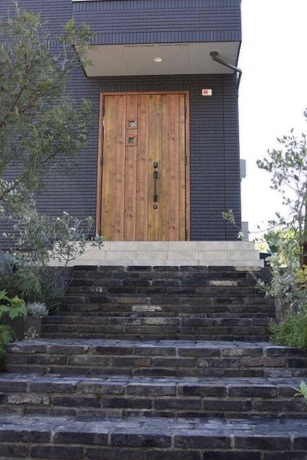 アンティークレンガの階段